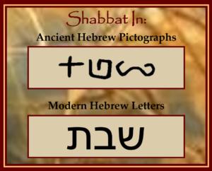 Shabbat in Hebrew Text