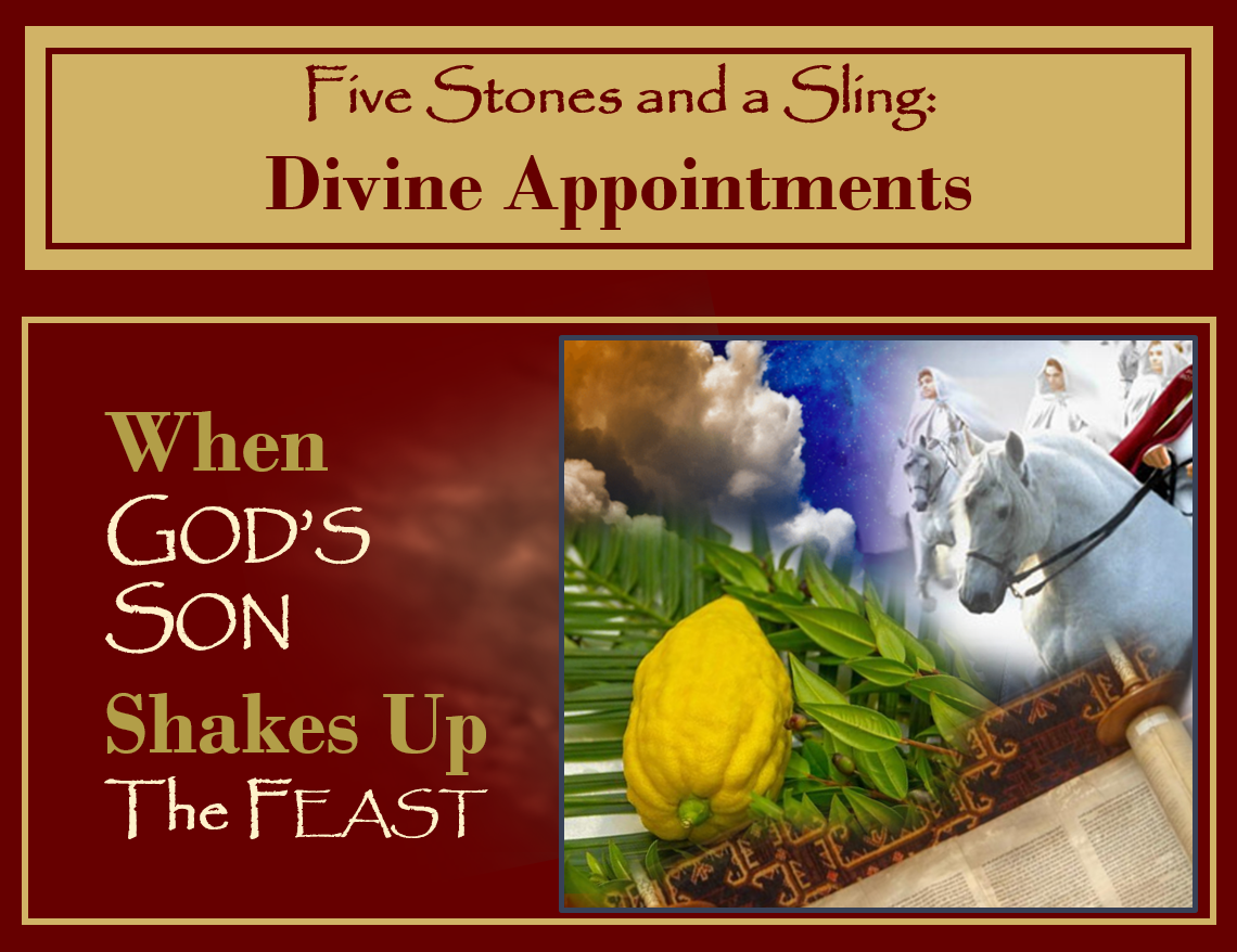 Sukkot: When God's Son Shakes Up the Feast