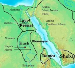 Kingdom of Kush in 400 BC