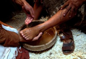 Passover Footwashing