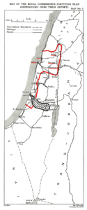Israel: Peel Commission Proposal, 1937