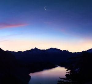 Feast of Trumpets: Crescent Moon