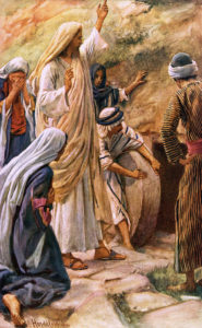 Lazarus Come Forth by Harold Copping