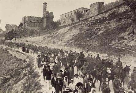 Jerusalem in 1916