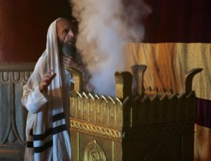 Yom Kippur: Priest at Altar of Incense