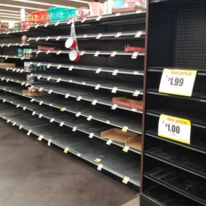 Bread of Life: Stripped Shelves in AZ Grocery Store