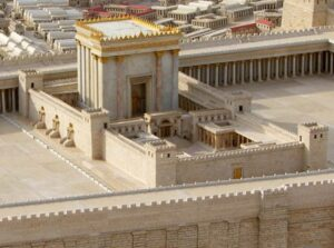 Second Temple Model at the Shrine of the Book, Jerusalem